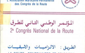 Le 2ème congrès National de la Route